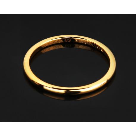 Оригинальное обручальное золотое кольцо van cleef. Артикул: 070915/22
