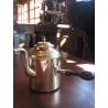 Чайник из мельхиора, старинный