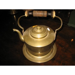 Чайник старинный из латуни