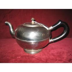 Чайник мельхиор, антикварный