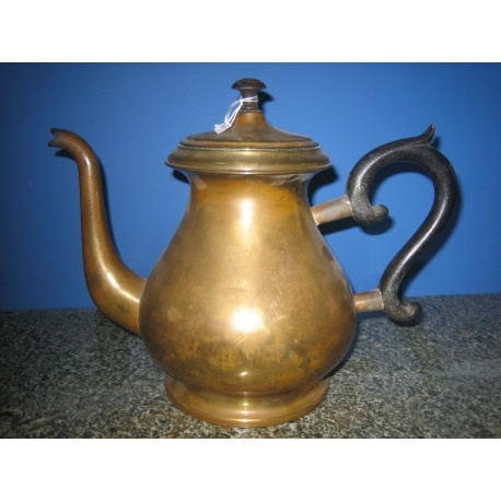 Чайник из латуни антикварный
