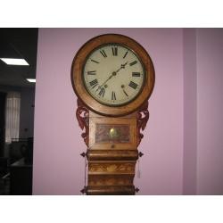 Настенные часы с боем из красного дерева