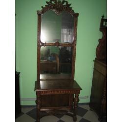 Зеркало с консолью антикварное
