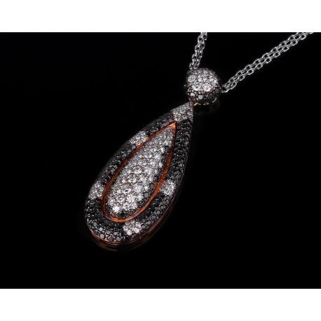 Maskada итальянская бриллиантовая подвеска Артикул: 230417/4