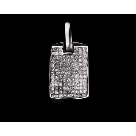Модная золотая подвеска с бриллиантами 2.20ct Артикул: 040417/3