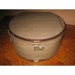Шляпная коробка из кожи 1880 год