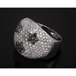 Giovanni ferraris шикарное бриллиантовое кольцо