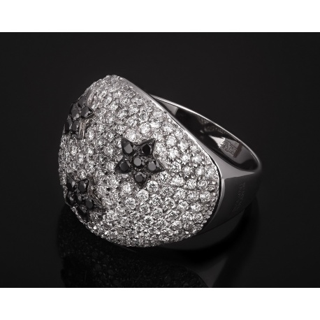 Giovanni ferraris шикарное бриллиантовое кольцо Артикул: 220917/1