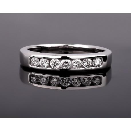 Модное золотое кольцо с бриллиантами 0.23ct Артикул: 280617/10