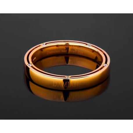 Damiani brad pitt обручальное золотое кольцо Артикул: 041017/1