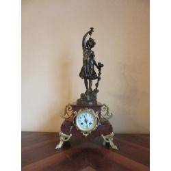 Часы Samuel Marti каминные, антикварные