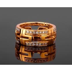 Bvlgari Parentesi изумительное золотое кольцо