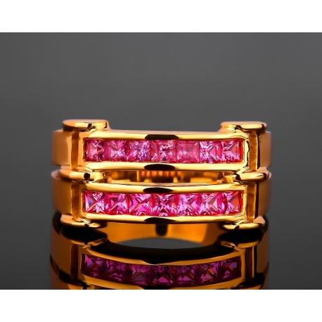 Adler Leyla швейцарское сапфировое кольцо Артикул: 261017/1