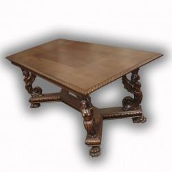 Антикварный стол с нимфами