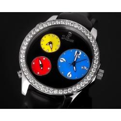 Dibur престижные часы с бриллиантами 3.25ct