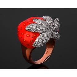 Santamaria Marco удивительное золотое кольцо