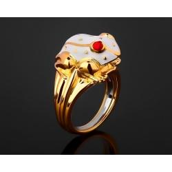 David Webb Frog красивое кольцо с эмалями