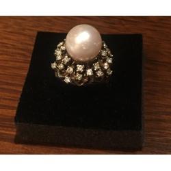 Кольцо с жемчугом ( Лот LV 2152)