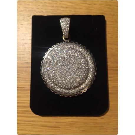 Брош с бриллиантами ( Лот LV 2767)