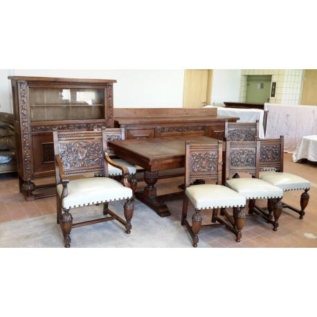 Комплект столовой мебели ( Лот SV 2926 )