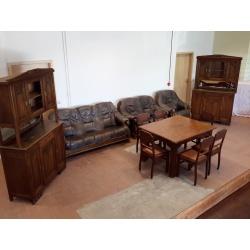 Антикварная столовая мебель
