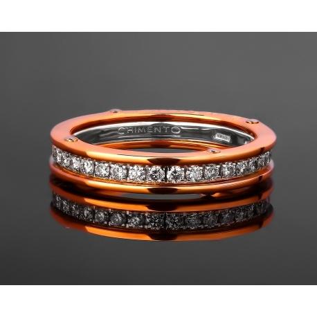 Chimento золотое кольцо с бриллиантами 0.65ct Артикул: 011217/7