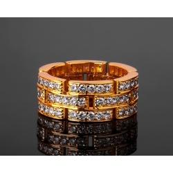 Cartier Maillon Panthère шикарное золотое кольцо