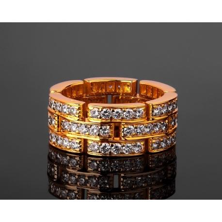 Cartier Maillon Panthère шикарное золотое кольцо Артикул: 021217/5