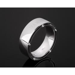 Damiani Brad Pitt стильное золотое кольцо