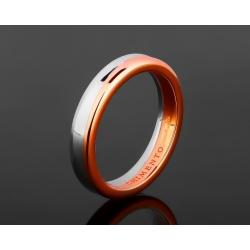 Обручальное золотое кольцо Chimento