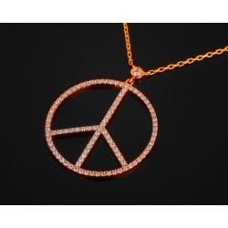 Messika Peace And Love бриллиантовое колье