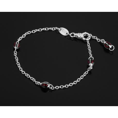 Aaron Basha Ladybug модный золотой браслет Артикул: 090118/2