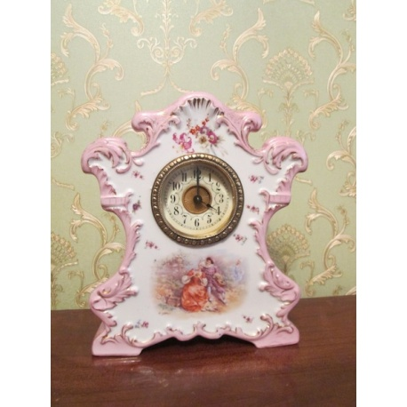 Антикварные фарфоровые часы Лот ( AL 1093 )