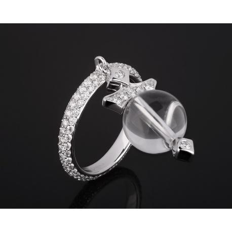 Золотое кольцо с бриллиантами 1.22ct Ivanka Trump Артикул: 260118/13