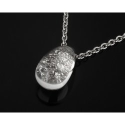 Кулон с бриллиантами в хрустале Cartier
