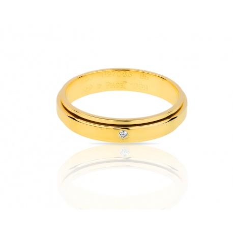 Золотое кольцо с бриллиантом Piaget Possession Артикул: 020318/11