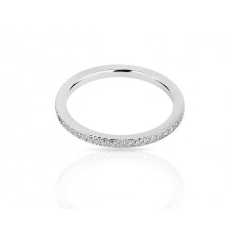 Платиновое кольцо с бриллиантами 0.15ct Tiffany&Co Legacy Артикул: 060318/9