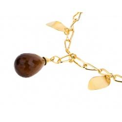 Золотой браслет с цветными камнями Alfieri&St.John