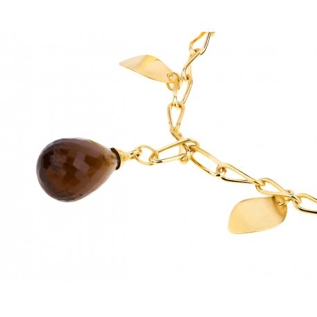 Золотой браслет с цветными камнями Alfieri&St.John Артикул: 151217/24