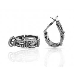 Золотые серьги с бриллиантами Franck Muller