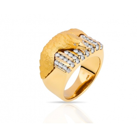 Золотое кольцо с бриллиантами 1.08ct Carrera Y Carrera Артикул: 260218/8
