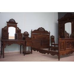 Спальня в стиле Бретонь