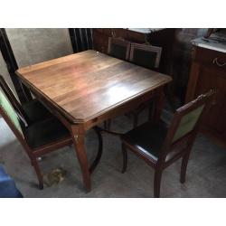 Антикварная столовая с мрамором