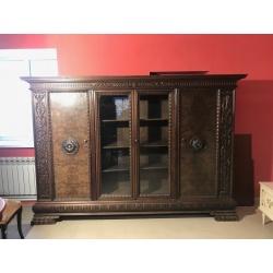Книжный кабинетный шкаф (Apт NSKA5)