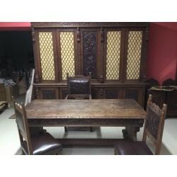 Старинный кабинет из массива