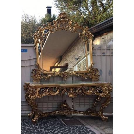 Великолепное зеркало с консолью (Apт NZER70)