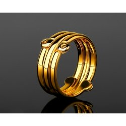 Солидное золотое кольцо Baraka