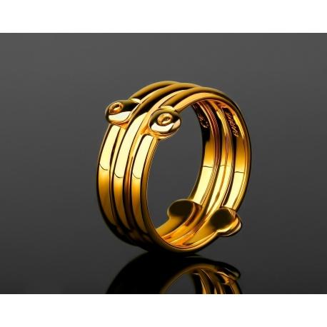 Солидное золотое кольцо Baraka Артикул: 040318/4