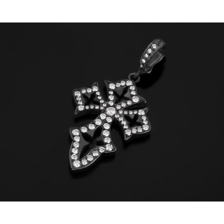 Идеальный золотой крест с бриллиантами 0.70ct Loree Rodkin Артикул: 210318/23