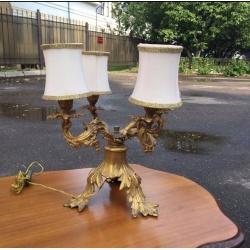 Настольный бронзовый светильник (Apт NOSV263)